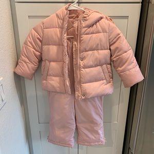 Gap Snowsuit | Pink | VGUC